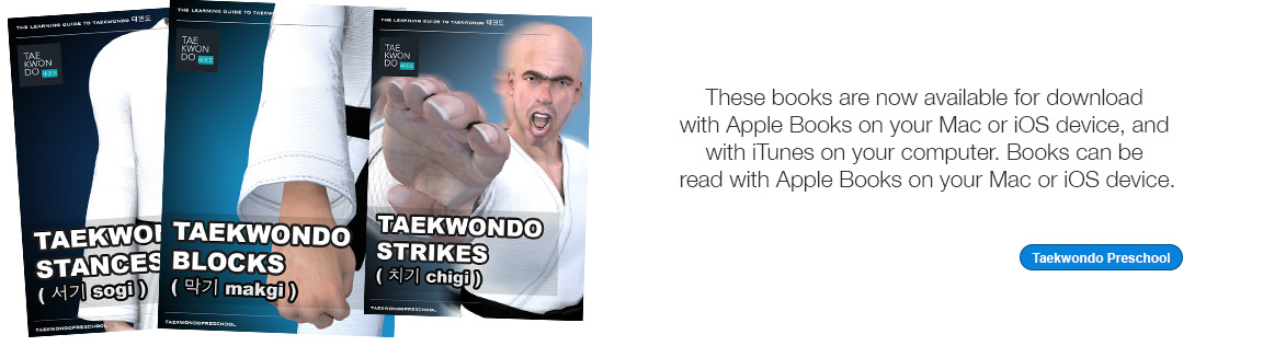 Taekwondo Preschool Apple iBook version