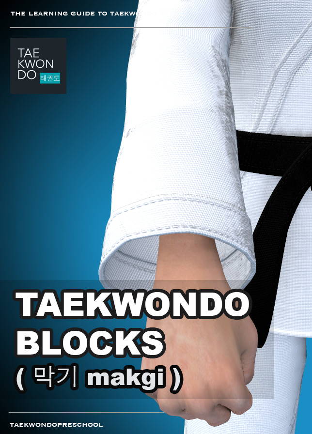Taekwondo Preschool iBook version - Blocks ( 막기 makgi )
